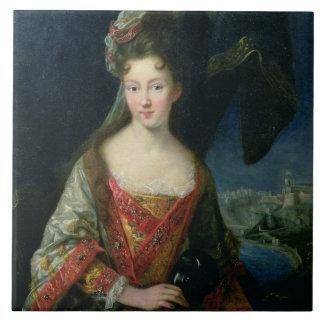Portrait of Louise-Hippolyte (1687-1731), Princess Tile
