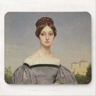 Portrait of Louise Vernet  Daughter of the Mouse Pad