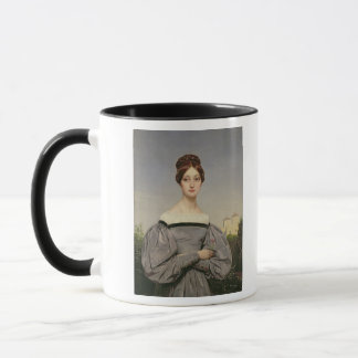 Portrait of Louise Vernet  Daughter of the Mug