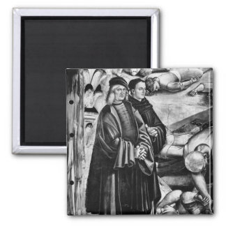 Portrait of Luca Signorelli and Fra Angelico Magnet