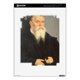 Portrait of Lucas Cranach the Elder (1472-1553) 15 Skins For iPad 3