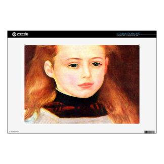 "Portrait of Lucie Berard by Pierre Renoir Decals For 13"" Laptops"