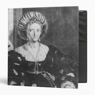 Portrait of Lucrezia Borgia Binder