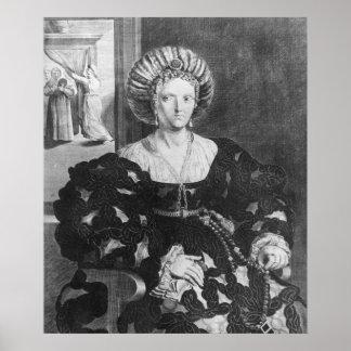 Portrait of Lucrezia Borgia Poster