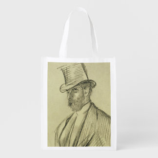 Portrait of Ludovic Halevy (1834-1908), from 'La F Market Tote