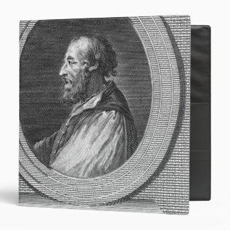 Portrait of Ludovico Ariosto Vinyl Binder