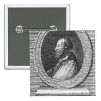 Portrait of Ludovico Ariosto 2 Inch Square Button