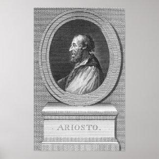 Portrait of Ludovico Ariosto Poster