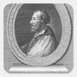 Portrait of Ludovico Ariosto Square Sticker