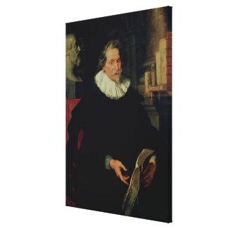 Portrait of Ludovicus Nonnius Canvas Print
