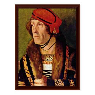 Portrait Of Ludwig Graf Zu Loewenstein Postcard