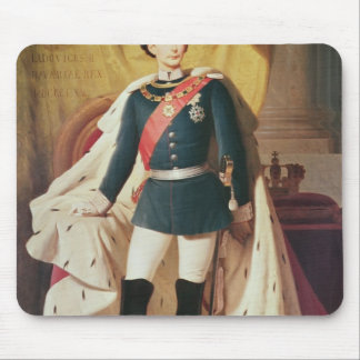 Portrait of Ludwig II of Bavaria in uniform Mouse Pad