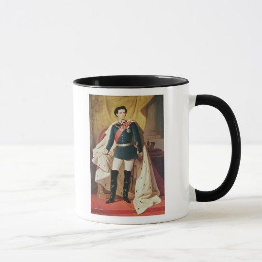 Portrait of Ludwig II of Bavaria in uniform Mug