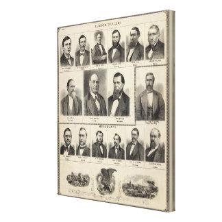 Portrait of Lumber Dealers, Minnesota Canvas Print
