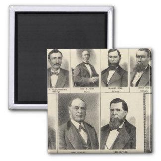 Portrait of Lumber Dealers, Minnesota Magnet