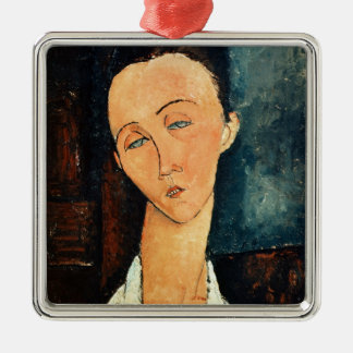 Portrait of Lunia Czechowska, 1918 Metal Ornament
