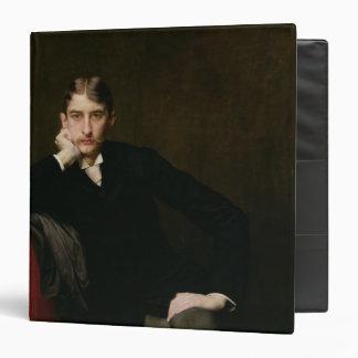 Portrait of M. Fitzgerald, 1889 3 Ring Binders