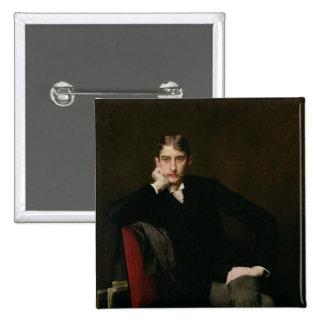 Portrait of M. Fitzgerald, 1889 Pins