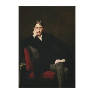 Portrait of M. Fitzgerald, 1889 Canvas Print