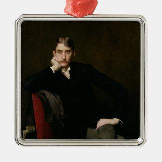 Portrait of M. Fitzgerald, 1889 Metal Ornament