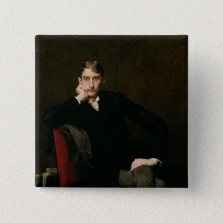 Portrait of M. Fitzgerald, 1889 Pinback Button