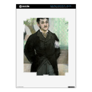 Portrait of M. Gauthier-Lathuille, son of the owne Decal For iPad 3