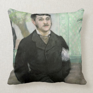 Portrait of M. Gauthier-Lathuille, son of the owne Throw Pillow