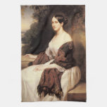 portrait of madame ackerman the wife of the chief kitchen towels