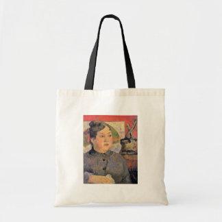 Portrait Of Madame Alexandre Kohler By Gauguin Canvas Bags