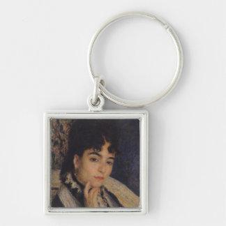 Portrait of Madame Alphonse Daudet  1876 Key Chains