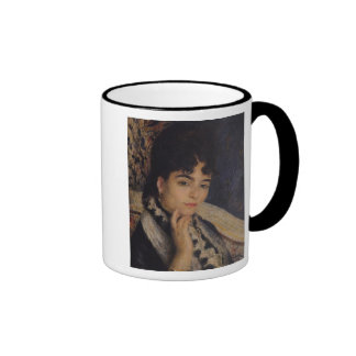 Portrait of Madame Alphonse Daudet  1876 Ringer Coffee Mug