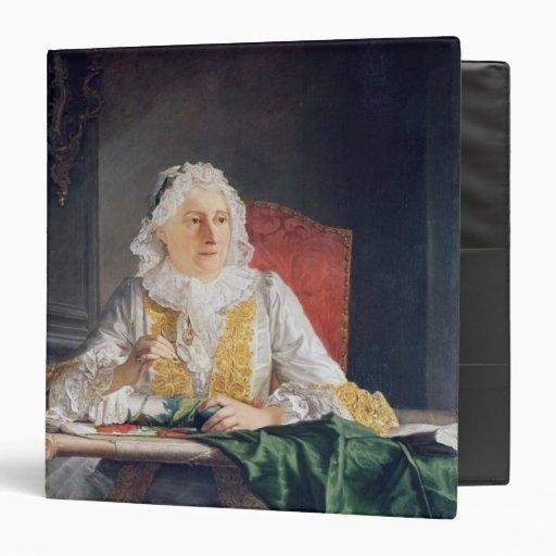Portrait of Madame Antoine Crozat, 1741 Binders