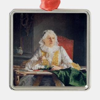 Portrait of Madame Antoine Crozat, 1741 Metal Ornament