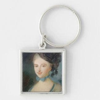 Portrait of Madame Balzac, c.1798 Key Chain