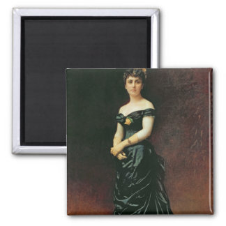 Portrait of Madame Bishoffsheim, 1877 Magnet