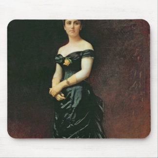 Portrait of Madame Bishoffsheim, 1877 Mouse Pad