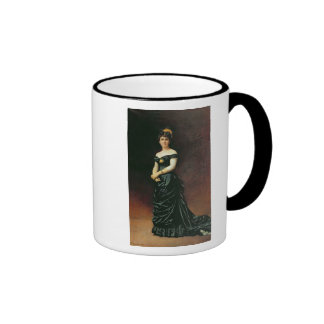 Portrait of Madame Bishoffsheim, 1877 Coffee Mugs