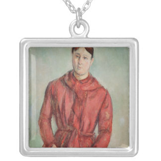 Portrait of Madame Cezanne Silver Plated Necklace