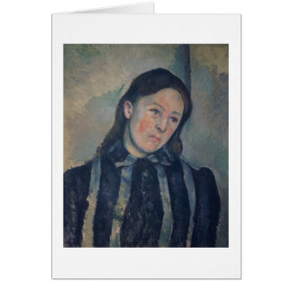 Portrait of Madame Cezanne with Loosened Hair, 189 Card