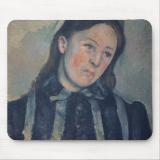 Portrait of Madame Cezanne with Loosened Hair, 189 Mouse Pad