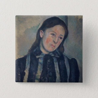 Portrait of Madame Cezanne with Loosened Hair, 189 Pinback Button