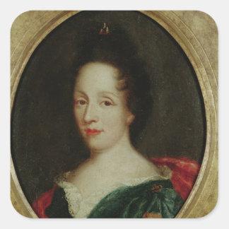 Portrait of Madame Champmesle Square Sticker