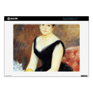 Portrait of Madame Clapisson by Pierre Renoir Acer Chromebook Skins