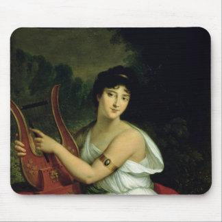 Portrait of Madame de la Pleigne Mouse Pad