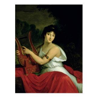 Portrait of Madame de la Pleigne Postcard