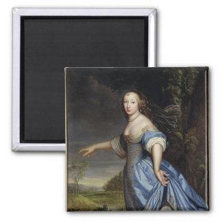 Portrait of Madame de la Sabliere Magnet