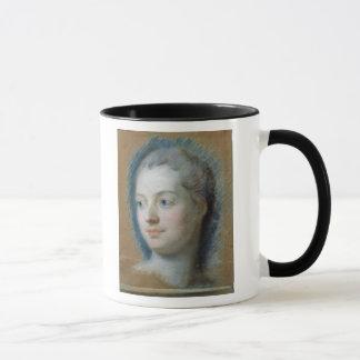 Portrait of Madame de Pompadour  1752 Mug