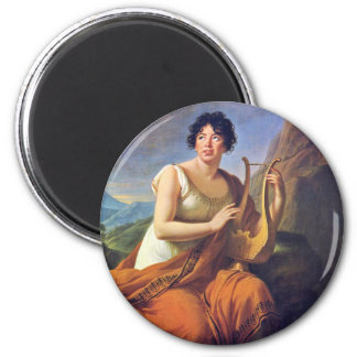 "Portrait Of Madame De Staa ""L As Corinne By Fridge Magnets"