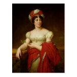 Portrait of Madame de Stael Postcards