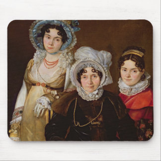 Portrait of Madame de Tangry Mouse Pad